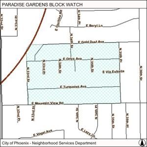 paradise gardens blockwatch