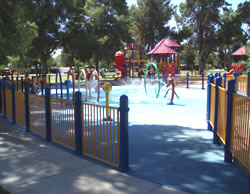 Altadena Park Splash Pad area