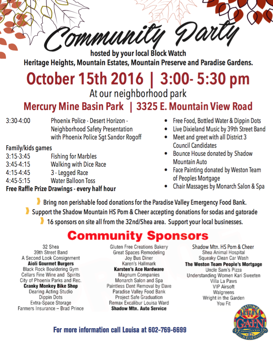 community-party